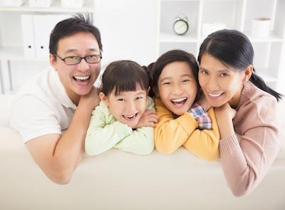 Family Smiling | Advanced Dentistry by Design