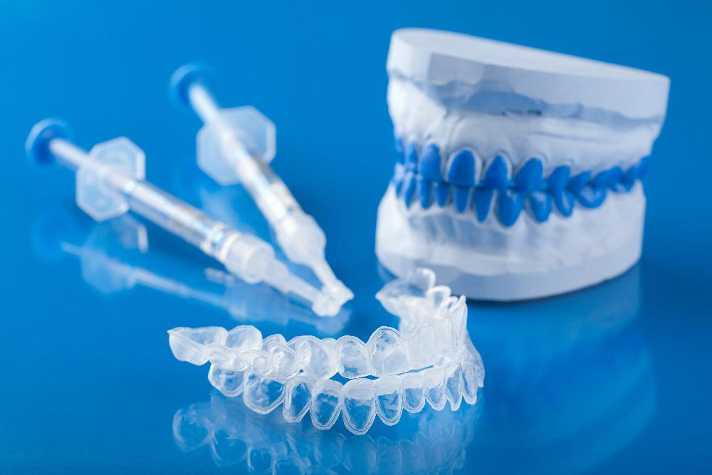 Tools used for professional teeth whitening in San Jose CA